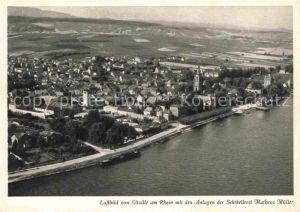 AK / Ansichtskarte Eltville Rhein Fliegeraufnahme Sektkellerei Matheus Mueller Kat. Eltville am Rhein