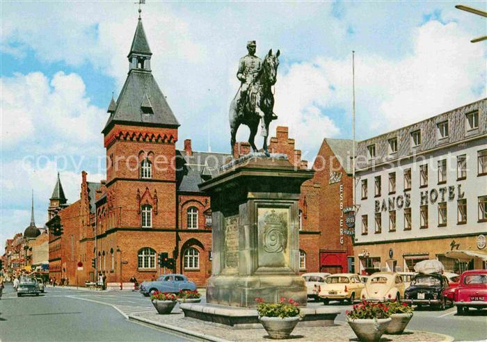 AK / Ansichtskarte Esbjerg Marktplatz Kat. Esbjerg