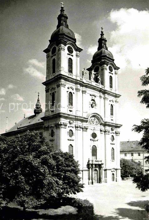 AK / Ansichtskarte Kalocsa Kathedrale