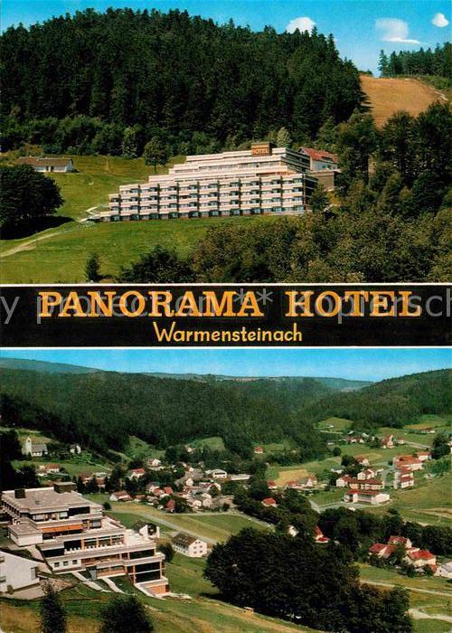 AK / Ansichtskarte Warmensteinach Panorama Hotel Luftkurort Fichtelgebirge Kat. Warmensteinach Fichtelgebirge