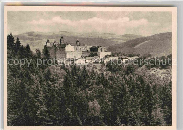 AK / Ansichtskarte Kulmbach Blick vom Rehberg auf die Plassenburg Kat. Kulmbach