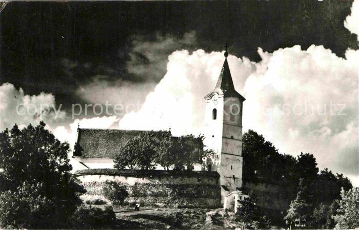 AK / Ansichtskarte Miercurea Ciuc Biserica intarita din Cirta Kirche