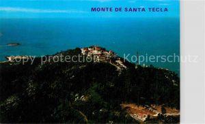 AK / Ansichtskarte La Guardia Pontevedra Vista aerea del Monte de Santa Tecla