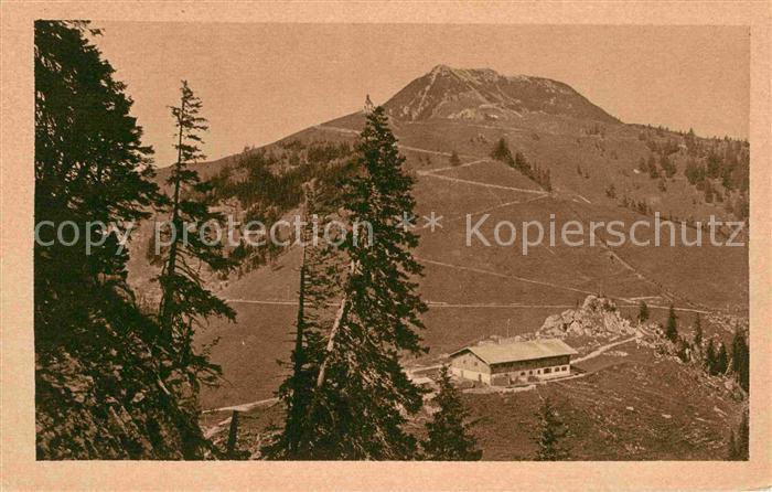 AK / Ansichtskarte Tegernsee mit Wallberg Unterkunftshaus Kat. Tegernsee
