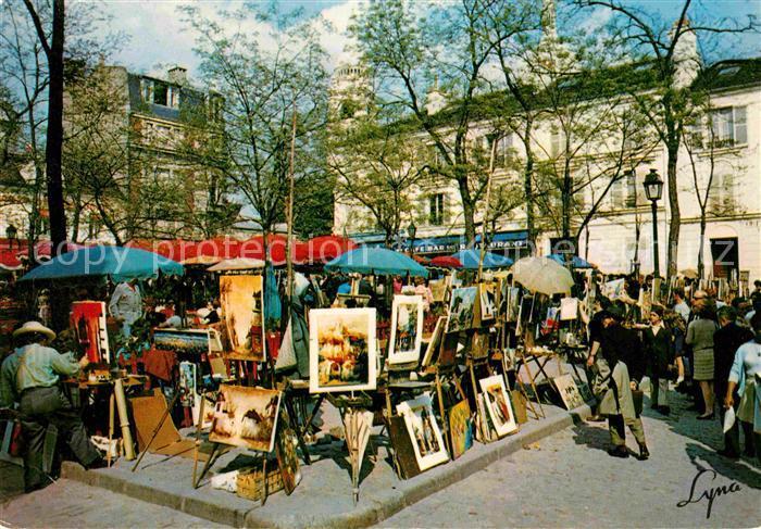 AK / Ansichtskarte Paris Montmartre Kat. Paris
