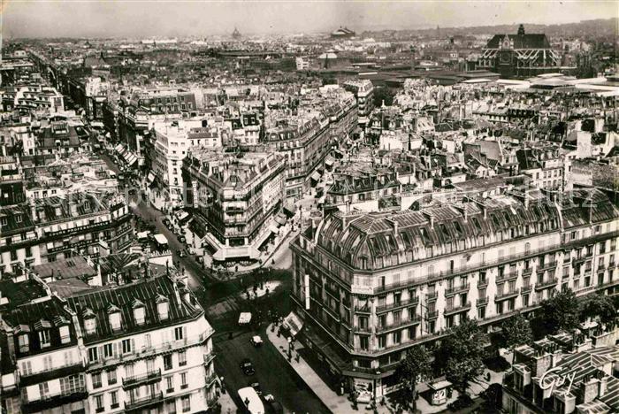 AK / Ansichtskarte Paris Panorama vers la Rue de Rivoli Collection Paris et ses merveilles Kat. Paris