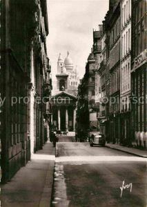 AK / Ansichtskarte Paris en flanant Rue Laffitte Eglise Notre Dame de Lorette Basilique du Sacre Coeur Kat. Paris