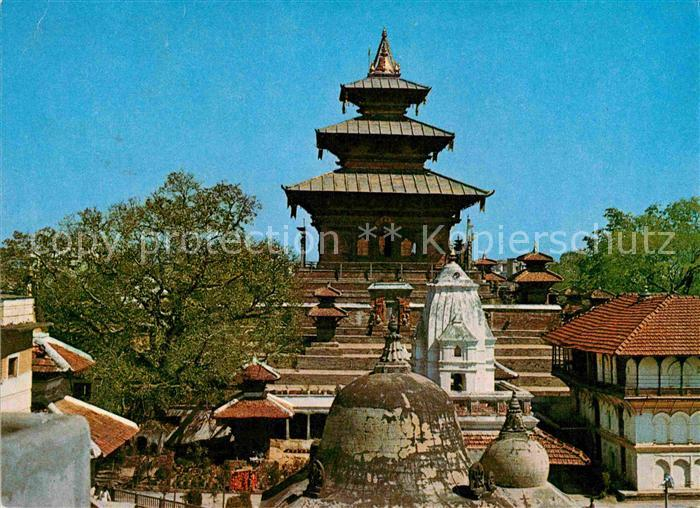 AK / Ansichtskarte Nepal Taleju Temple Kat. Nepal
