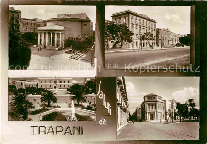 AK / Ansichtskarte Trapani Teilansichten Gebaeude Kat. Trapani