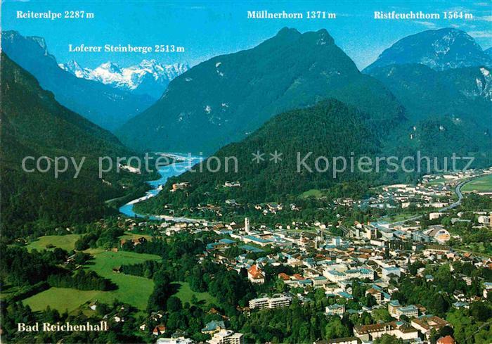 AK / Ansichtskarte Bad Reichenhall Panorama  Kat. Bad Reichenhall