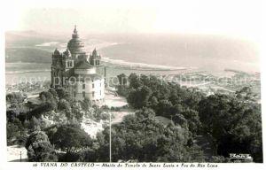 AK / Ansichtskarte Viana do Castelo Abaide do Templo de Santa Luzia Foz do Rio Lima Kat. Viana do Castelo