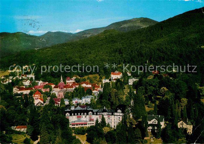 AK / Ansichtskarte Badenweiler Fliegeraufnahme Hotel Roemerbad Kat. Badenweiler