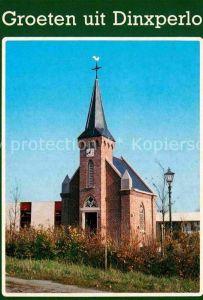 AK / Ansichtskarte Dinxperlo Kleinste Kirche der Niederlande