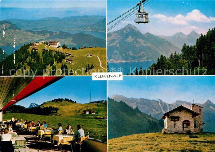 AK / Ansichtskarte Klewenalp Hotel Chalet Guggeregg Bahn Restaurant