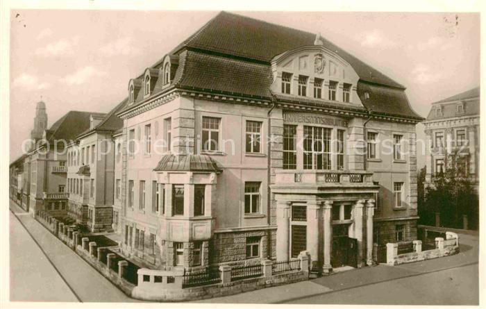AK / Ansichtskarte Erlangen Universitaets Bibliothek  Kat. Erlangen