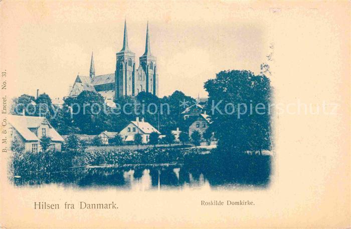 AK / Ansichtskarte Daenemark Roskilde Domkirke  Kat. Daenemark