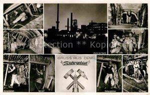 AK / Ansichtskarte Dortmund Ruhrgebiet Zeche Bergarbeiter Unter Tage Kat. Dortmund