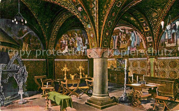 AK / Ansichtskarte Wartburg Eisenach Kemenate der heiligen Elisabeth Kat. Eisenach