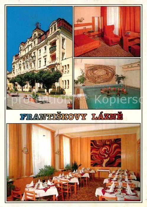 AK / Ansichtskarte Frantiskovy Lazne Vojensky lazensky ustav  Kat. Franzensbad