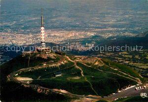 AK / Ansichtskarte Clermont Ferrand Puy de Dome Sommet du Puy de Dome Observatoire vue aerienne Kat. Clermont Ferrand