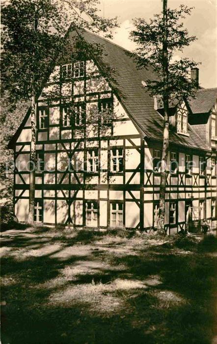 AK / Ansichtskarte Wiesenbad Sanatorium Thermalbad Kat. Thermalbad Wiesenbad
