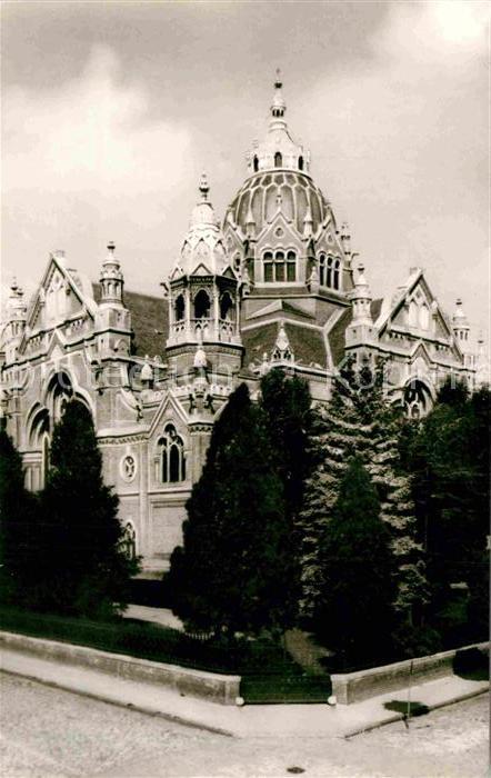 AK / Ansichtskarte Szeged Synagoge Kat. Szeged