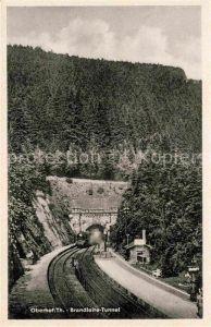 AK / Ansichtskarte Eisenbahn Oberhof Brandleite Tunnel  Kat. Eisenbahn