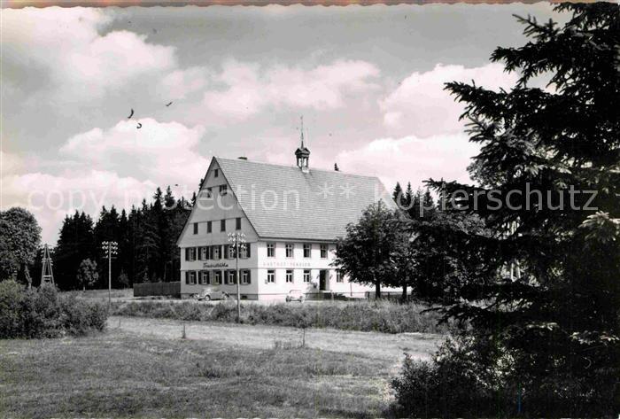 AK / Ansichtskarte Villingen Schwenningen Gasthaus Friedrichshoehe Kat. Villingen Schwenningen