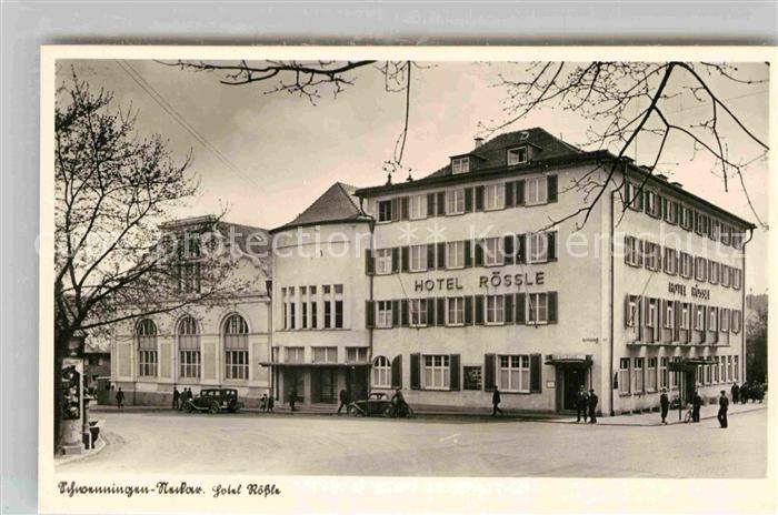 AK / Ansichtskarte Schwenningen Neckar Hotel Roessle Kat. Villingen Schwenningen