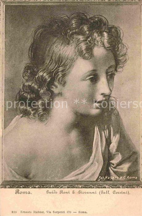 AK / Ansichtskarte Kuenstlerkarte Alte Kuenstler Guido Reni S. Giovanni  Kat. Kuenstlerkarte