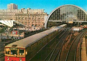 AK / Ansichtskarte Berlin S Bahnhof Alexanderplatz Hauptstadt der DDR Kat. Berlin
