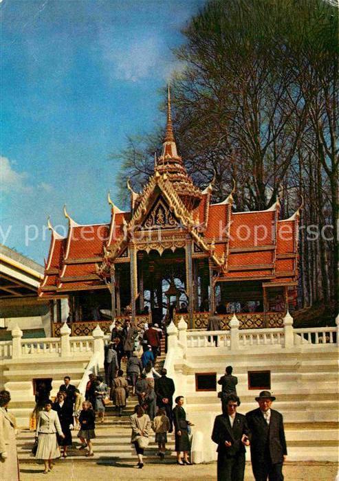 AK / Ansichtskarte Exposition Internationale Bruxelles 1958 Pavillon de la Thailande