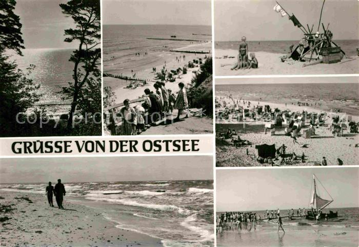 AK / Ansichtskarte Karlshagen Strandleben Kat. Karlshagen Usedom