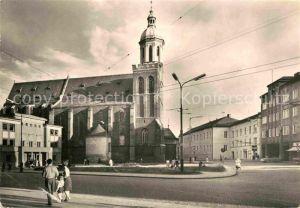AK / Ansichtskarte Opava Troppau Kirchenpartie Kat. Opava