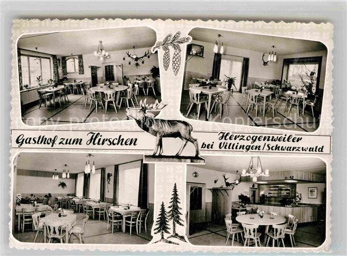 AK / Ansichtskarte Villingen Schwenningen Gasthaus zum Hirschen Kat. Villingen Schwenningen