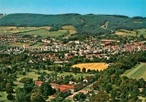 AK / Ansichtskarte Bad Driburg im Eggebirge am Teutoburger Wald Fliegeraufnahme Kat. Bad Driburg