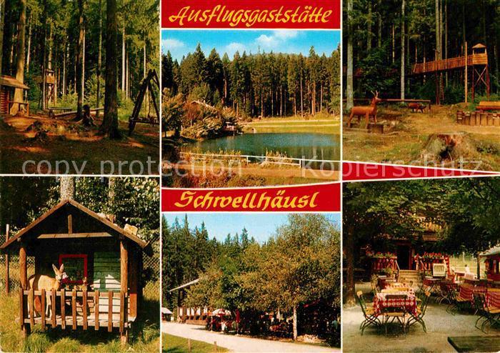 AK / Ansichtskarte Zwieslerwaldhaus Gaststaette Cafe Schwellhaeusl  Kat. Lindberg