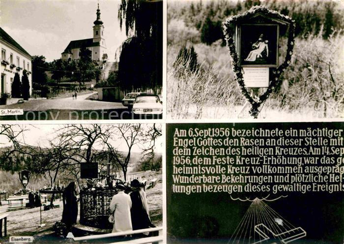 AK / Ansichtskarte Eisenberg Burgenland Sankt Martin Kirche  Kat. Deutsch Schuetzen Eisenberg