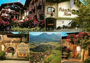 AK / Ansichtskarte Neubeuern Restaurant Cafe Haschl Alm Inntaler Alpen Kat. Neubeuern Inn