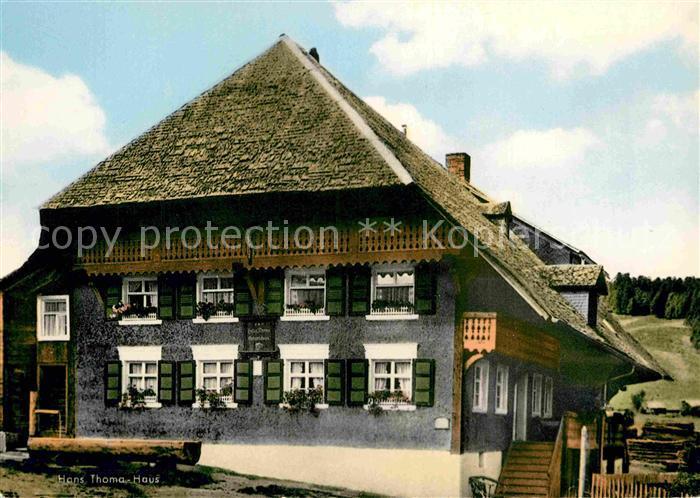 AK / Ansichtskarte Bernau Schwarzwald Hans Thoma Haus Luftkurort ...