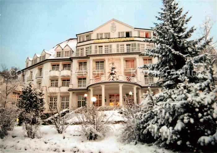 Ak Ansichtskarte Bad Mergentheim Klinik Hohenlohe Im