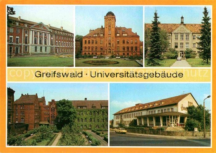 AK / Ansichtskarte Greifswald Ernst Moritz Arndt Universitaet