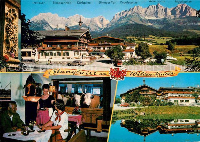 AK / Ansichtskarte Going Wilden Kaiser Tirol Stanglwirt Ellmauer Halt Ellmauer Tor  Kat. Going am Wilden Kaiser