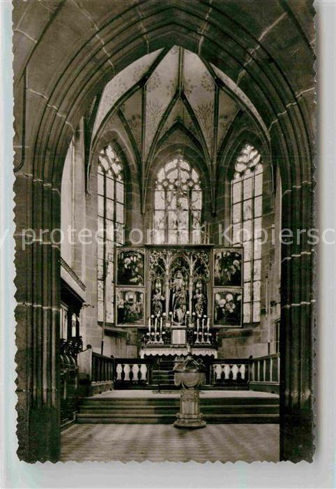 AK / Ansichtskarte Lautenbach Renchtal Wallfahrtskirche Hochaltar Kat. Lautenbach