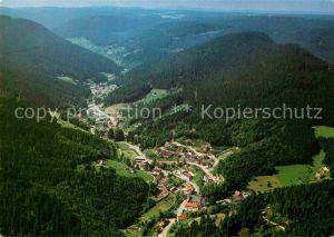 AK / Ansichtskarte Schapbach im Schwarzwald Fliegeraufnahme Kat. Bad Rippoldsau Schapbach