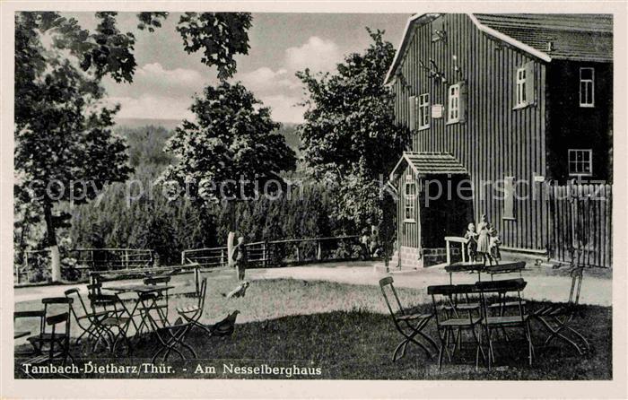AK / Ansichtskarte Tambach Dietharz Nesselberghaus Kat. Tambach Dietharz