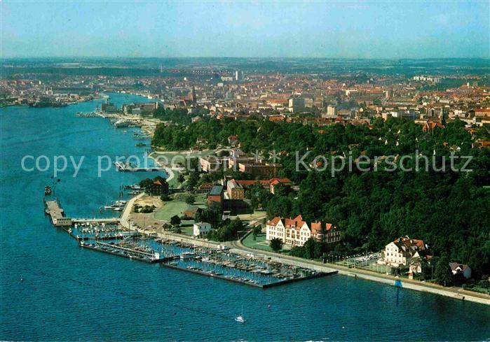 AK / Ansichtskarte Kiel Luftaufnahme Hafen Kat. Kiel