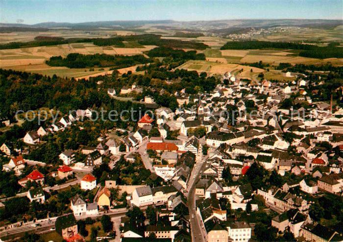AK / Ansichtskarte Helmbrechts Oberfranken Luftaufnahme Kat. Helmbrechts