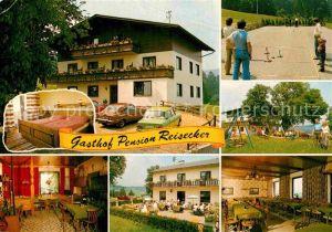 AK / Ansichtskarte Lohnsburg Kobernausserwald Gasthof Pension Reisecker Kat. Lohnsburg am Kobernausserwald