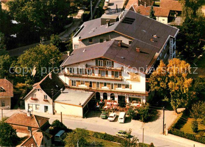 AK / Ansichtskarte Eichgraben Luftaufnahme Cafe Restauration Wienerwald Kat. Eichgraben